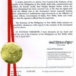 Agreement Attestation for Philippines in Ahmedabad, Agreement Legalization for Philippines , Birth Certificate Attestation for Philippines in Ahmedabad, Birth Certificate legalization for Philippines in Ahmedabad, Board of Resolution Attestation for Philippines in Ahmedabad, certificate Attestation agent for Philippines in Ahmedabad, Certificate of Origin Attestation for Philippines in Ahmedabad, Certificate of Origin Legalization for Philippines in Ahmedabad, Commercial Document Attestation for Philippines in Ahmedabad, Commercial Document Legalization for Philippines in Ahmedabad, Degree certificate Attestation for Philippines in Ahmedabad, Degree Certificate legalization for Philippines in Ahmedabad, Birth certificate Attestation for Philippines , Diploma Certificate Attestation for Philippines in Ahmedabad, Engineering Certificate Attestation for Philippines , Experience Certificate Attestation for Philippines in Ahmedabad, Export documents Attestation for Philippines in Ahmedabad, Export documents Legalization for Philippines in Ahmedabad, Free Sale Certificate Attestation for Philippines in Ahmedabad, GMP Certificate Attestation for Philippines in Ahmedabad, HSC Certificate Attestation for Philippines in Ahmedabad, Invoice Attestation for Philippines in Ahmedabad, Invoice Legalization for Philippines in Ahmedabad, marriage certificate Attestation for Philippines , Marriage Certificate Attestation for Philippines in Ahmedabad, Ahmedabad issued Marriage Certificate legalization for Philippines , Medical Certificate Attestation for Philippines , NOC Affidavit Attestation for Philippines in Ahmedabad, Packing List Attestation for Philippines in Ahmedabad, Packing List Legalization for Philippines in Ahmedabad, PCC Attestation for Philippines in Ahmedabad, POA Attestation for Philippines in Ahmedabad, Police Clearance Certificate Attestation for Philippines in Ahmedabad, Power of Attorney Attestation for Philippines in Ahmedabad, Registration Certificate Attestatio